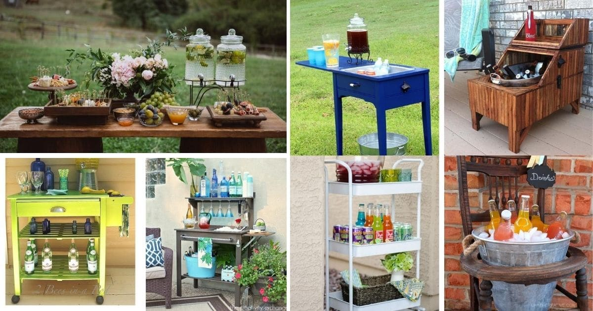 45 Fantastic Diy Outdoor Bar Ideas That Make Entertaining Easier Diy Guides Guides